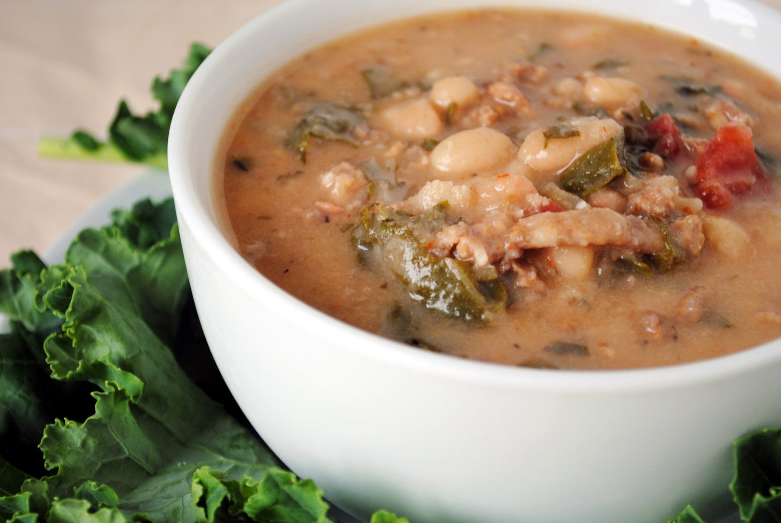 30-Minute Tuscan White Bean Soup Recipe — Dishmaps